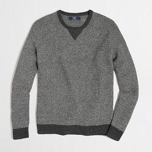 J. CREW Lambswool Sweatshirt Sweater